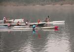 triathlon in river
